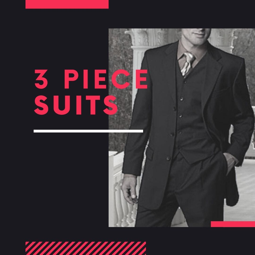 Many Styles, Colors And Sizes, Three Piece Suits for Men