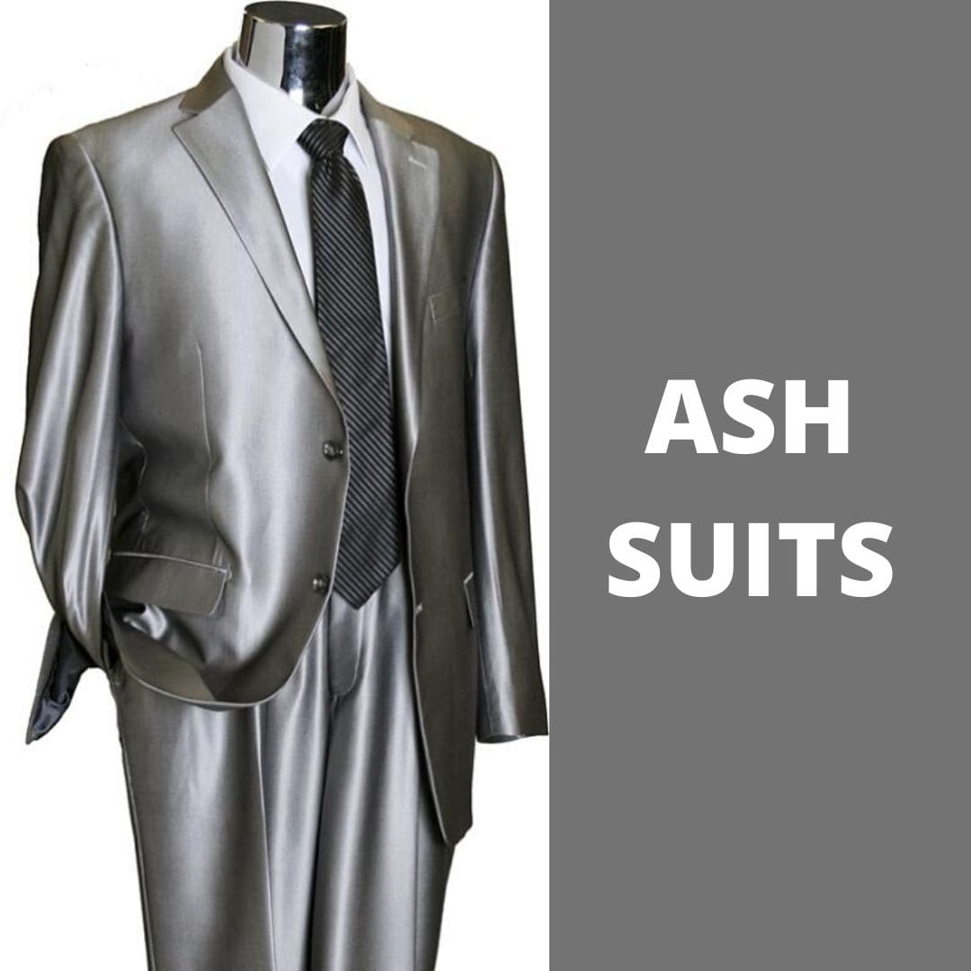 Shine in a sea of sameness with our light grey ash suits to brighten your collection and stand out from the rest