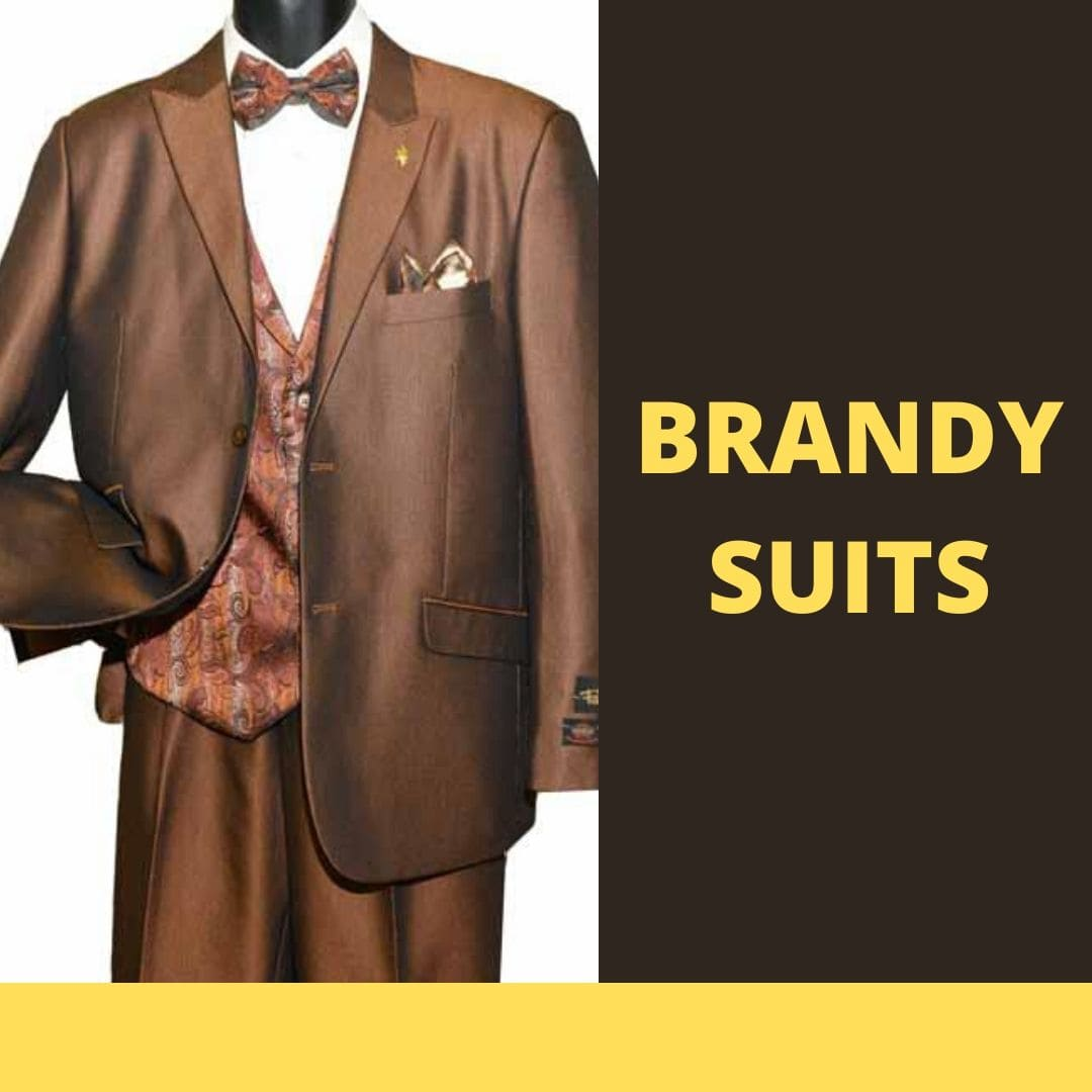 Many Styles, Colors And Sizes, Brandy Suits for Men