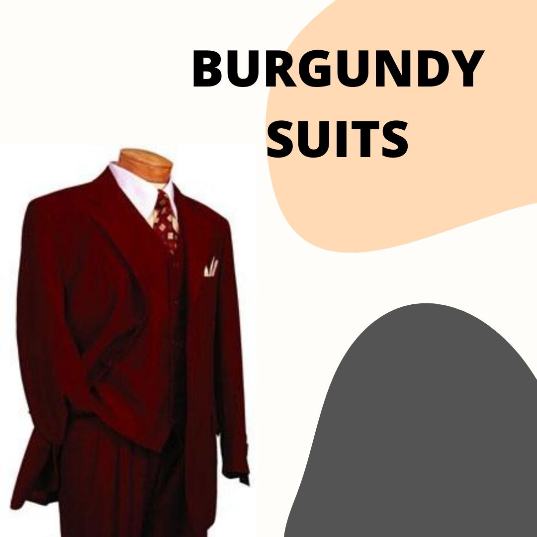 Many Styles, Colors And Sizes, Burgundy Suits for Men