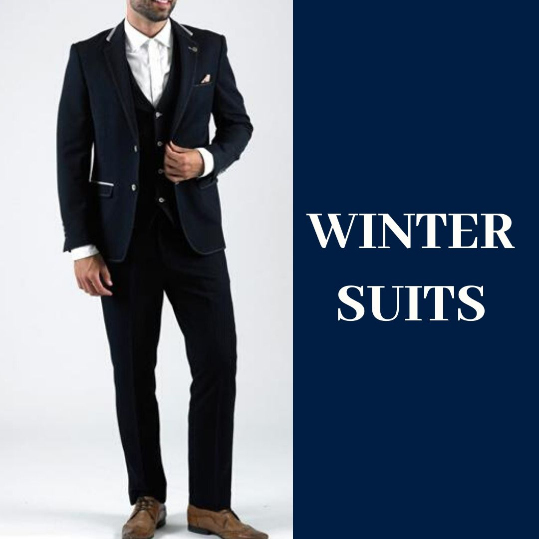 Large collection of winter suits from $140 and up.