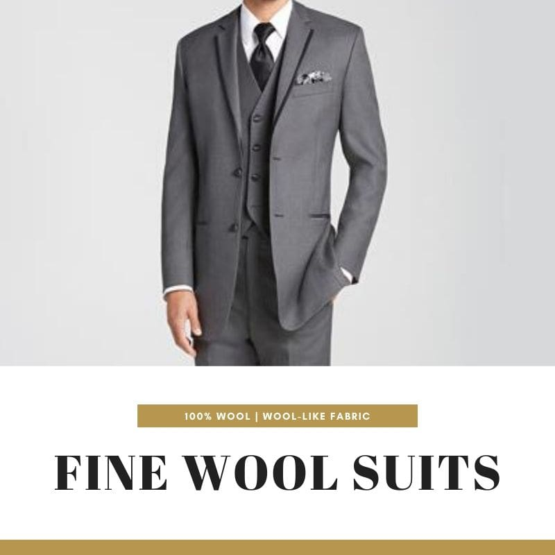 $78+ wool suits for mens in classic colors and good quality fabrics.