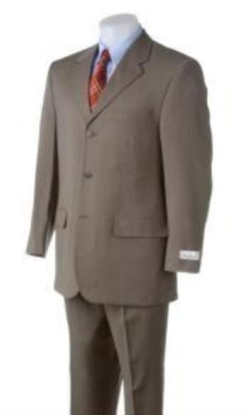 Three Buttons Style Mens Light Green Suit (CHECK COLOR), act now only $139.00