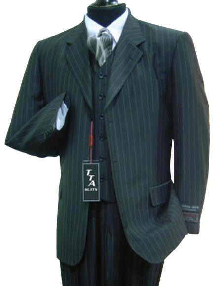 Mens Charcoal Grey Two Button Style Three Piece Suit, act now only $159.00