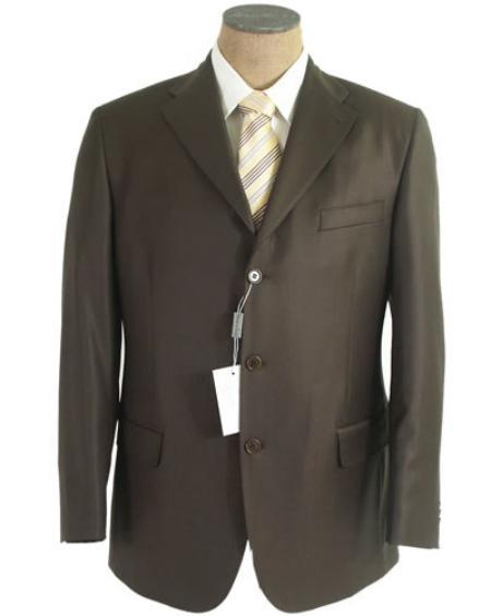 Mens Olive Green Three Button Style Single Breasted Suit, act now only $79.00