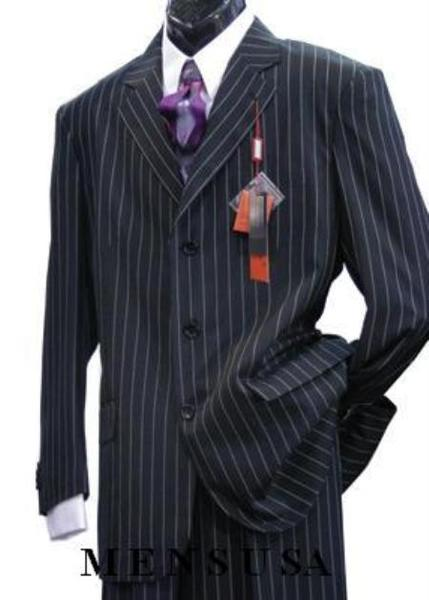 Light Weight Beautiful Black Single Breasted Mens Suit, act now only $109.00