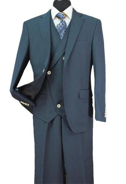 Mens Two Button Style Suit In Antique Green, act now only $150.00