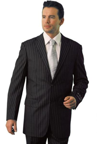 Mens Grey Trueran Viscose Three Button Suit, act now only $109.00