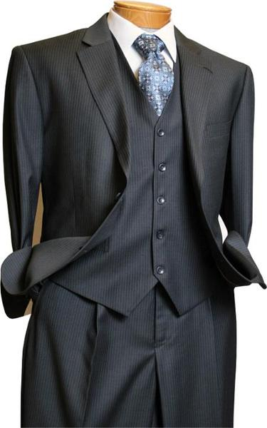Two Button Style Italian Fabric Mens Suit In Grey , act now only $199.00