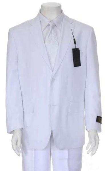 Mens Multi Stage Party Suit Collection Suit In White, act now only $139.00