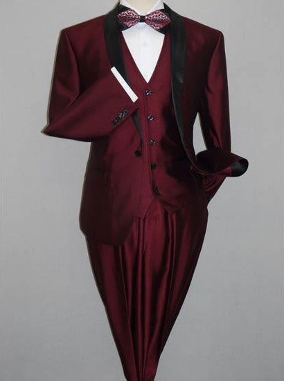 Mens Burgundy Slim Fit Suit, act now only $159.00
