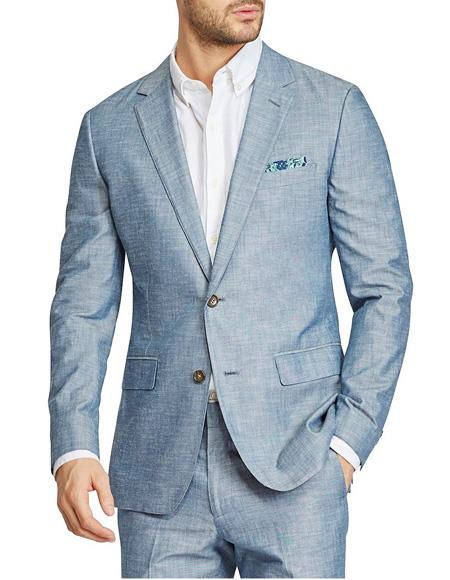 Mens Beach Wedding Attire Suit Menswear Gray $199 (CHECK COLOR), act now only $199.00