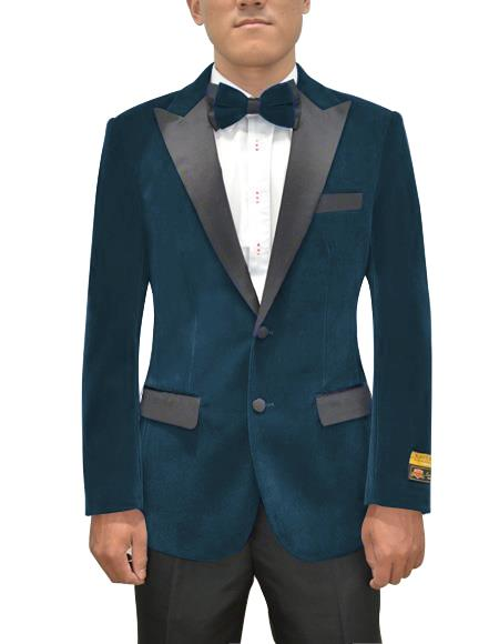 Mens Two Button Peak Lapel Prussian Single Breasted Suit, act now only $199.00