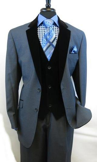 Men's Two Button Blue Suit, act now only $175.00
