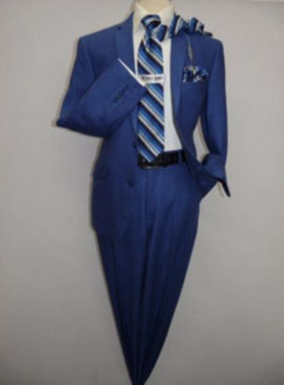 Men's Two Button Indigo Suit, act now only $189.00