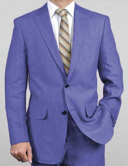 Men's Two Button Purple Suit, act now only $149.00