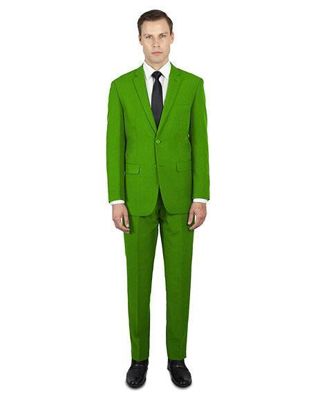 Mens Apple Green Festive Alberto Nardoni Best Stylish Young Online Suit, act now only $139.00