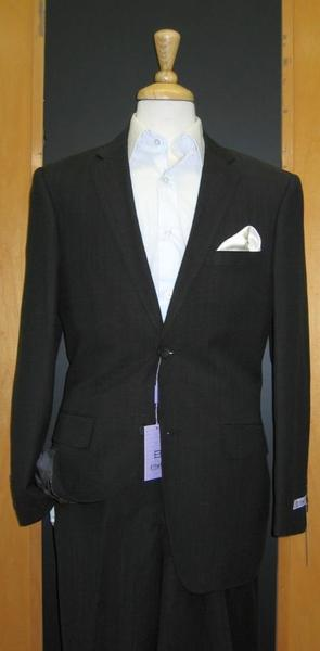 Mens Black Superior Fabric Light Weight Suit, act now only $179.00