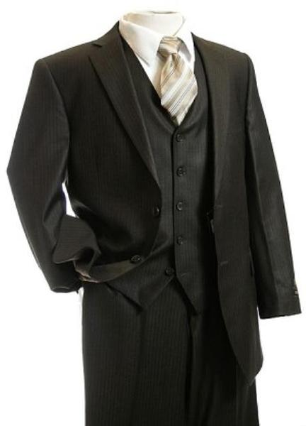Mens Brown Shade Two Button Style Suit, act now only $149.00