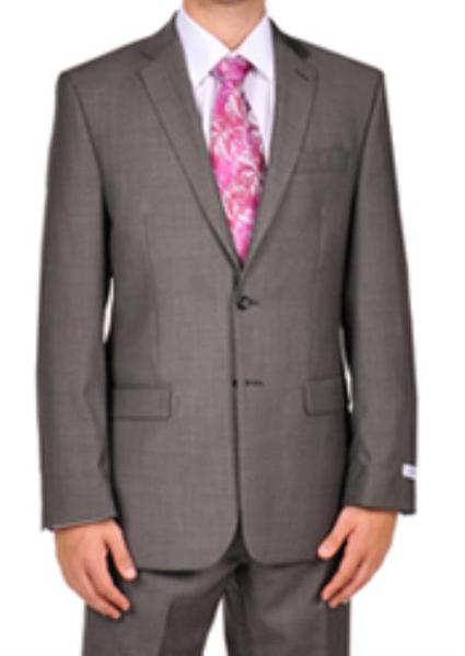 Mens Dark Grey Masculine color Pindot Dress Suit, act now only $139.00