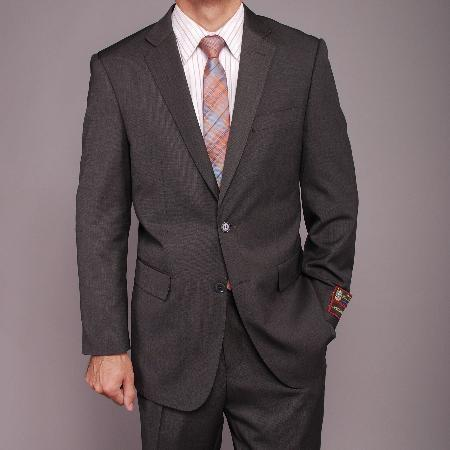 Mens Gray Teakweave 2-button Suit, act now only $149.00