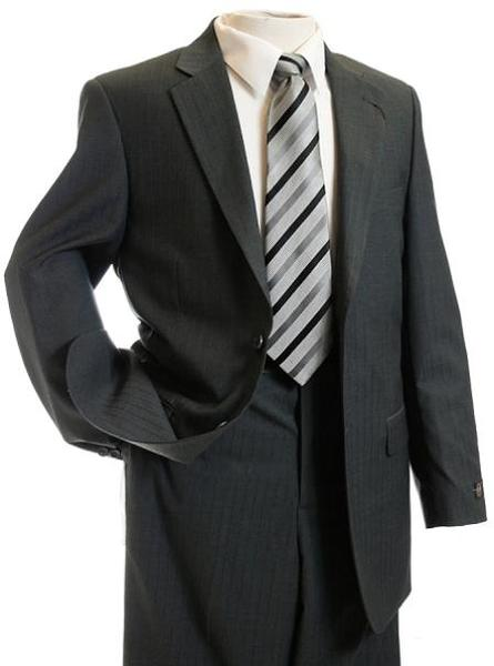 Mens Gray Two Button Style TNT Suit, act now only $139.00