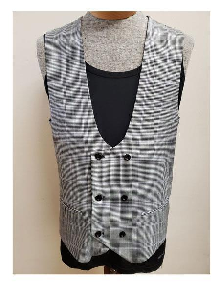 Mens Harbor Gray Two Button Style Suit, act now only $175.00