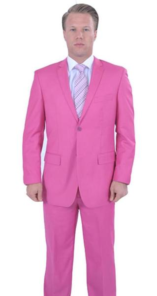 Mens hot Pink Two Piece affordable suit, act now only $139.00