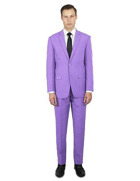 Mens Lavender Festive Alberto Nardoni Best Stylish Young Online Suit, act now only $139.00