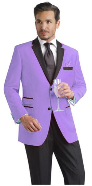 Mens Lavender Two Button Notch Party Suit, act now only $395.00