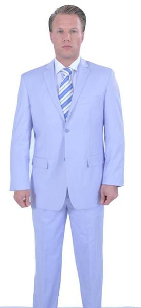 Mens Lavender Two Piece affordable suit, act now only $125.00
