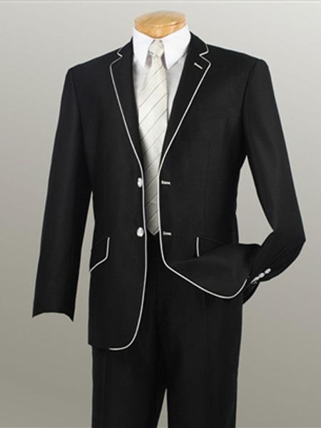 Mens Leg Lower rise Pants & Get skinny Liquid Jet Black Suits, act now only $149.00
