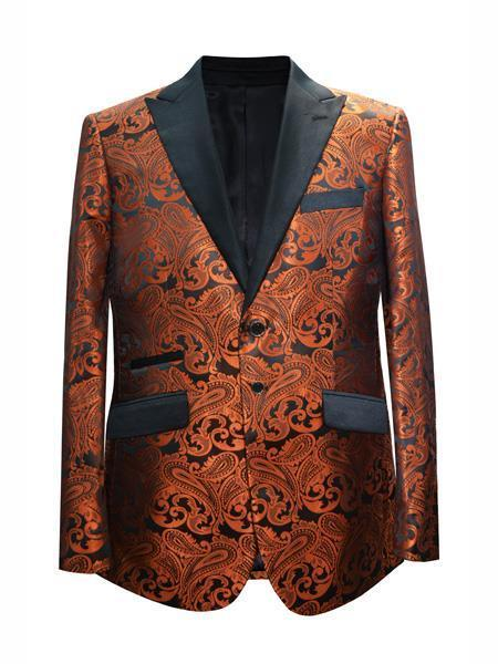 Mens Light Brown Two button Style Suit, act now only $175.00