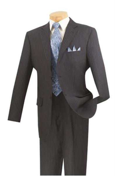 Mens Navy 2 Button Style Suits for Online (CHECK COLOR), act now only $175.00