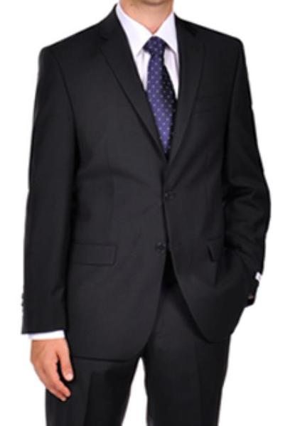 Mens Navy Blue Shade Tonal Stripe ~ Pinstripe Dress Suit, act now only $175.00
