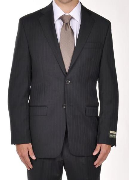 Mens Navy Pinstripe Dress Suit, act now only $275.00