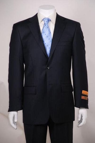 Mens Navy Tone Two Button Style Suit, act now only $159.00