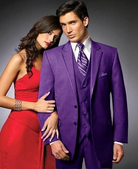 Mens Purple color shade Stage Party Tuxedo, act now only $595.00