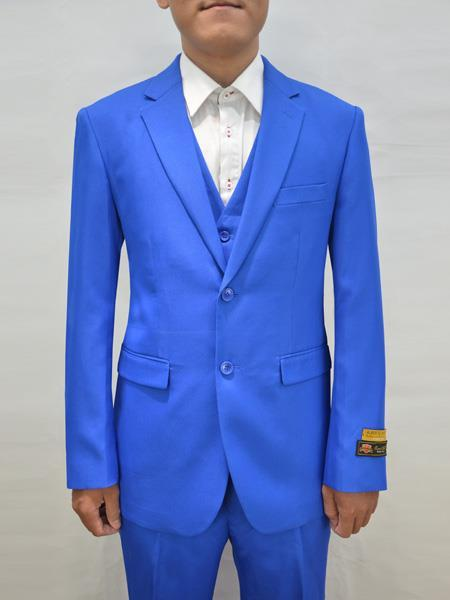 Mens Royal Two Button Style Alberto Nardoni Suit, act now only $199.00