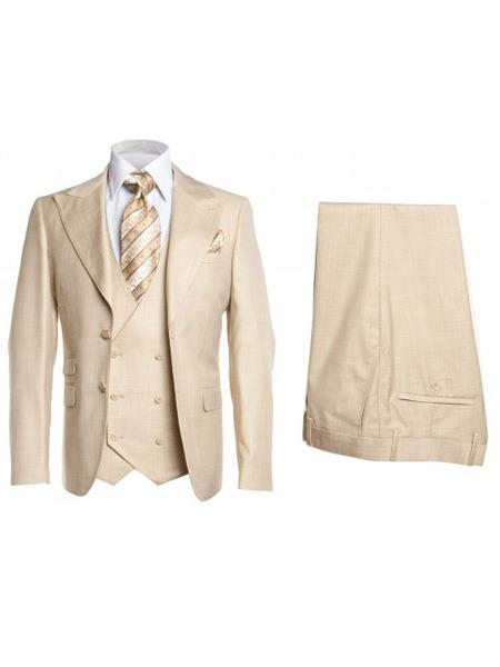 Mens Sandal Two Button Style Single Breasted Suit, act now only $175.00