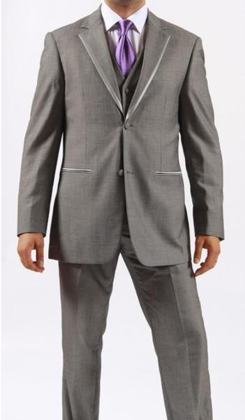 Mens Two Button Grey Color Tuxedo, act now only $175.00