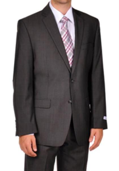 Mens Two Button Grey Suit, act now only $275.00