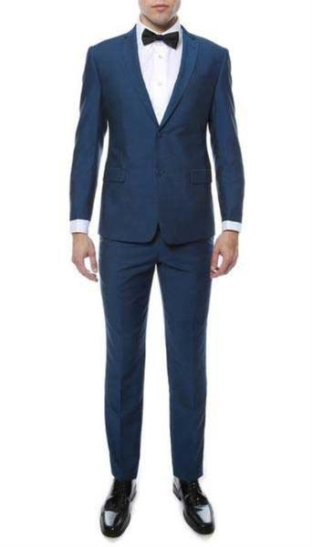 Mens Two Button Indigo Suit, act now only $129.00