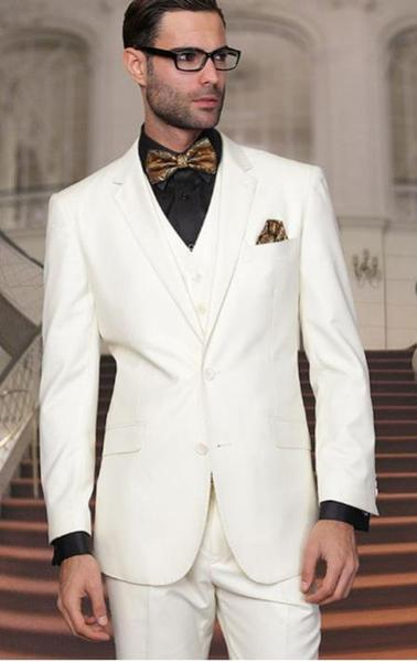 Mens Two Buttons Off-Whtie Suit, act now only $175.00